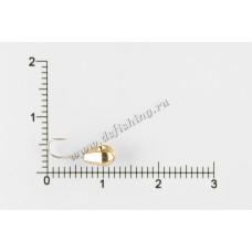 Мормышка вольфрамовая Капля граненая с отверстием Ø 4,0 вес 0,71 г