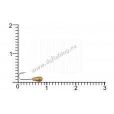 Мормышка вольфрамовая Каблучок Ø 2,0 вес 0,112 г