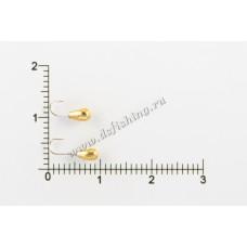 Мормышка вольфрамовая Каблучок Ø 2,5 вес 0,21 г