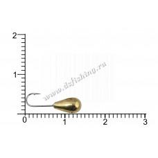 Мормышка вольфрамовая Каблучок Ø 4,0 вес 0,97 г
