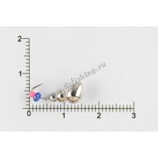 Мормышка вольфрамовая Муравей с отверстием Ø 5,0 вес 1,72 г