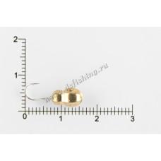 Мормышка вольфрамовая Муравей граненый с отверстием Ø 5,0 вес 1,82 г
