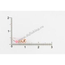 Мормышка вольфрамовая Муравей с фаской  с отверстием Ø 3,0 вес 0,3 г