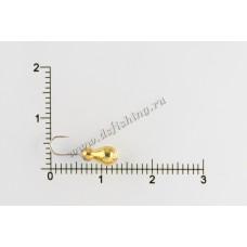 Мормышка вольфрамовая Муравей классический Ø 3,5 вес 0,74 г