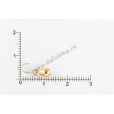 Мормышка вольфрамовая Муравей классический Ø 4,0 вес 1,06 г