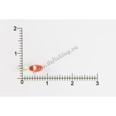 Мормышка вольфрамовая Овсинка Ø 2,5 вес 0,21 г