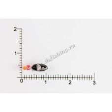 Мормышка вольфрамовая Овсинка Ø 3,0 вес 0,35 г