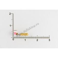 Мормышка вольфрамовая Рисинка-стучалка Ø 3,0 вес 0,5 г