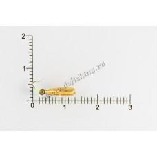 Мормышка вольфрамовая Рисинка-стучалка Ø 4,0 вес 1,2 г