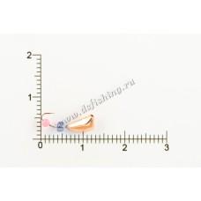 Мормышка вольфрамовая Дрейссена с отверстием Ø 3,0 вес 0,58 г