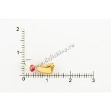 Мормышка вольфрамовая Дрейссена с отверстием Ø 4,0 вес 1,15 г