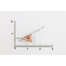 Мормышка вольфрамовая Звезда Ø 5,0 вес 1,10 г