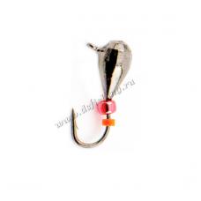 Капля ухо с граненой с верхушкой Ø 4,0 вес 0,89 г