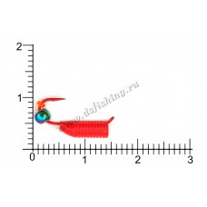 Столбики красные Ø 3,0 вес 1,33 г