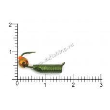 Столбики зеленые Ø 2,5 вес 0,95 г