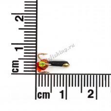 Чертик со сквозным отверстием Ø 1,5 вес 0,3 г