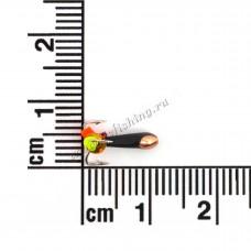 Чертик со сквозным отверстием Ø 2,0 вес 0,3 г