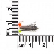 Ведьма с двумя крючками  Ø 2,5 вес 0,6 г